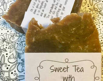Uplifting Sweet Tea with Lemon Soap