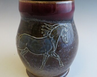 Ghost Horse Mug  Taking Off