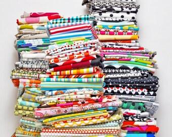 Fat Quarter Bundle - 10 Fat Quarter Bundle - No Duplicates Cotton Quilting Fabric