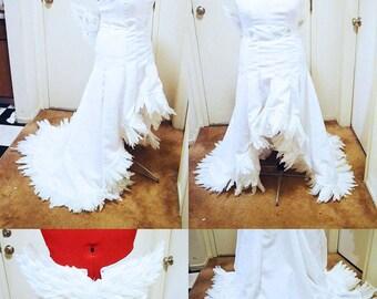 Costume/Wig: Yuna Wedding Dress and Wig (FFX-2)