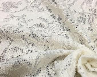 Double Face Burnout Jersey Knit Fabric