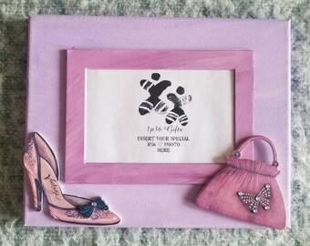 Shopping Diva Girl's Room Decor with Photo Insert