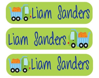 Back to School Daycare Deal - Dishwasher safe labels, pacifier labels, iron on labels, & laundry care tag labels.
