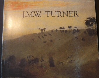 JMW Turner - Exhibition book - 1983 First Edition. Grand Palais Paris -French edition - gift for painters - British paintings