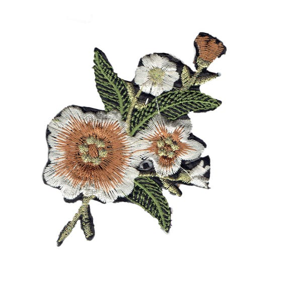 """Patch fusible pattern """"Flower"""""""