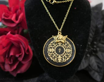 Angelic Magic Circle Necklace
