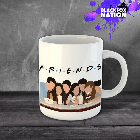 FRIENDS 90s Sitcom Mug Gift