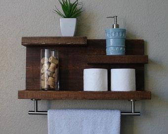 Awesome Brushed Nickel Floating Shelves
