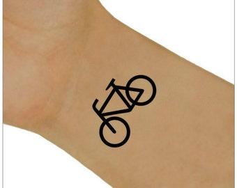 Temporary Tattoo 2 Bike Wrist Tattoos