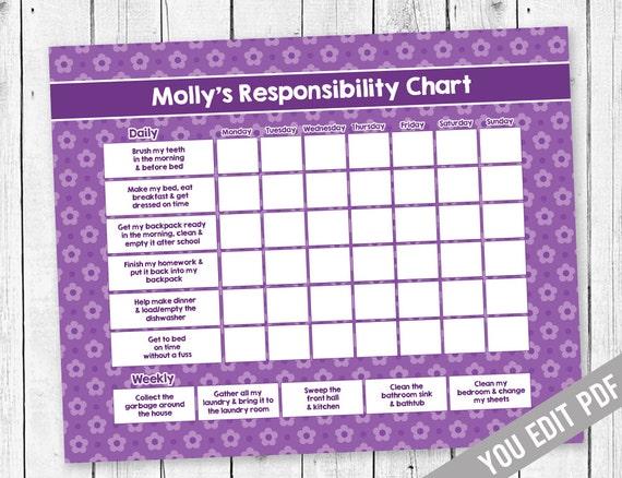 chore chart teen chore chart incentive chart allowance