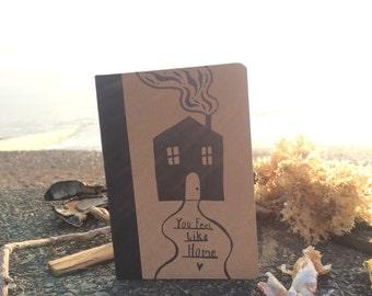 Hand Illustrated Mini Notebook Sketchbook Journal BUY 2 GET 1 FREE