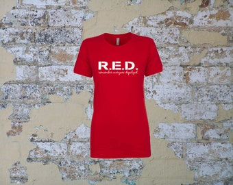 T- Shirt, short sleeve; RED Friday