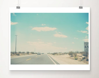 road photograph travel photography California photograph California print car photograph wanderlust art desert photograph