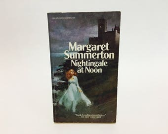 Vintage Gothic Romance Book Nightingale At Noon by Margaret Summerton 1962 Paperback