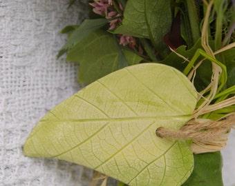 vine leaf teacher thank you tag