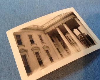 Vintage White House Photo, 1938 Photo,  Washington DC Photo, Whitehouse Collectibles