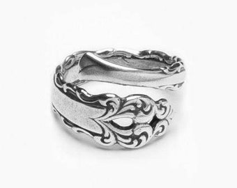 "Spoon Ring: ""Lara"" by Silver Spoon Jewelry"