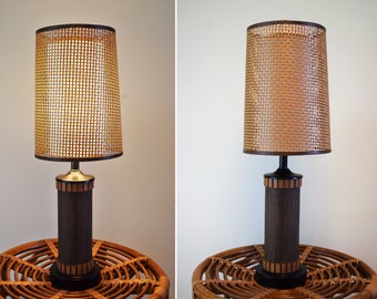 Modern lamps etsy vintage mid century table lamp wood lamp wood table lamp danish modern lamp lamp base only aloadofball Gallery