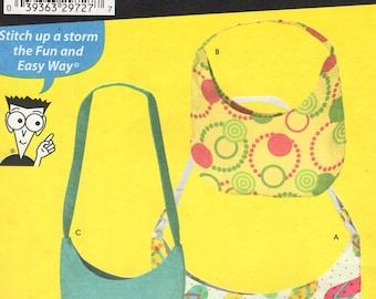 Free Us Ship Simplicity 4178 Sewing Pattern Craft Purse Tote Hand Bag Handbag Bags Cell phone holder Uncut New Sewing for Dummies