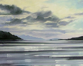 From Morar mounted print of an original oil painting by Tracy Butler