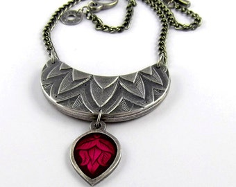 Layered Leaves - Necklace