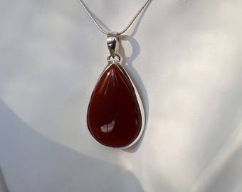 pendant joined carnelian w sterling necklace for life judie product silver gumm