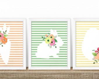 Easter Printable Art. Country Easter Printables. Shabby Easter Decor. Easter Prints. Easter Art. Spring Printables. Farmhouse Easter Decor.