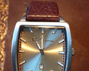 Ben Sherman watch Men's Quartz watch with date at the 6 New battery fitted