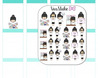 Chibits - Happy Mail... it's FINALLY here Planner Stickers | VSC 004