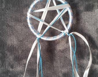small pagan Pentagram Dreamcatcher