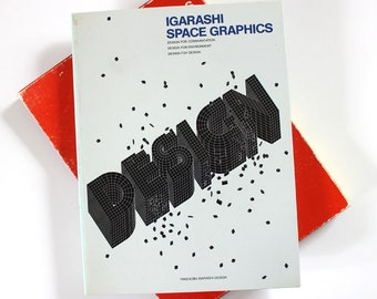 Igarashi Space Graphics Design.  1980s art and design book.