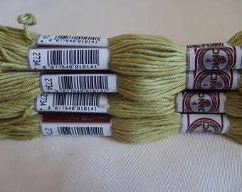 COTTON PLIED 89 2734 LIME GREEN MATTE