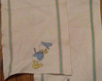 Donald Duck and Goofy vintage wash/dish cloths