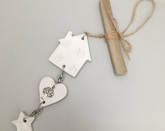 Air Dry Clay Hanging Decoration