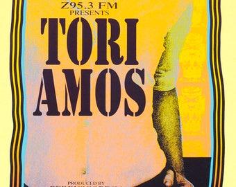 "HANDBILL Tori Amos  Art by Mark Arminski 4.25"" X 8.75"" Inches"