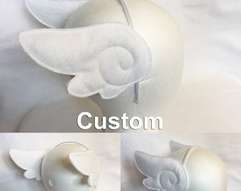 Kawaii Angel Wings Headband kawaii head wings magical girl wings sakura cosplay head wings Japanese cosplay wings costume head wings