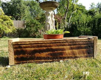 A Lovely wooden rectangle planter