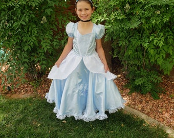 Classic Cinderella Blue Dress, Disney Princess