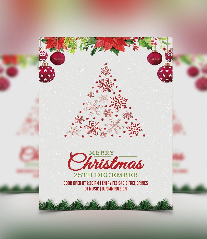 christmas party einladung flyer einladungskarte weihnachten. Black Bedroom Furniture Sets. Home Design Ideas