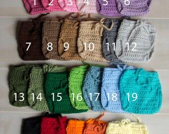 Diaper Cover newborn baby diaper cover crochet diaper cover pull up diaper cover Ready To Ship photo prop