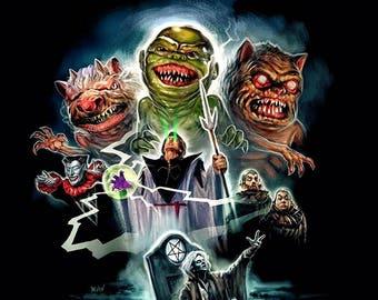 Ghoulies Art Print