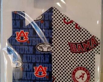 Alabama House Divided Tea Towel