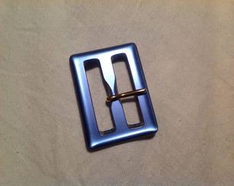 Small belt buckle vintage rectangular