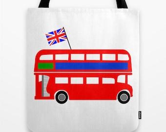 Brit Bus #TOTE \ #bag #bookbag