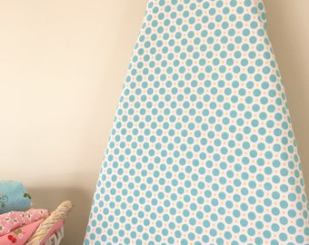 Ironing Board Cover - Circles in Aqua