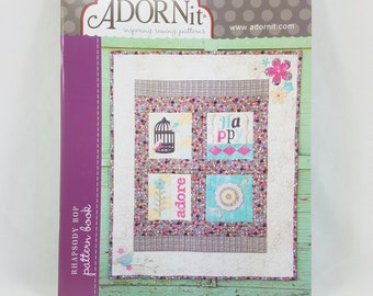 Rhapsody Bop Pattern Book by ADORNit