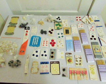 lot of sewing accessories and supplies
