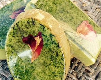 Grüntee Seife Gesichts Wunder Gesicht Seife mit konzentrierter grüner Tee matcha