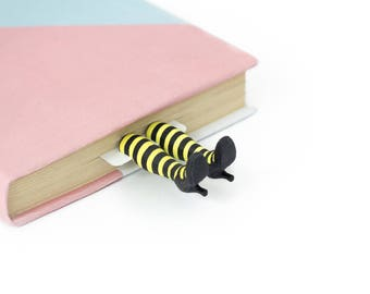 "Louisa bookmark. Louisa from ""Me before you"" in striped stockings. Gift for her, mom, women, granny, teen girl. Christmas stocking stuffer"