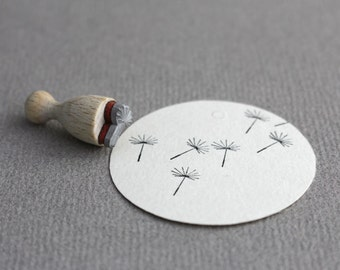 Stamp Dandelion mini